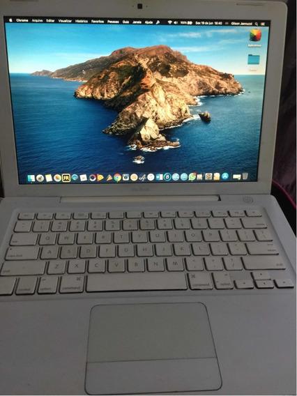 Macbook White A1181 Core 2 Duo 4gb Ssd 480gb Os X Catalina