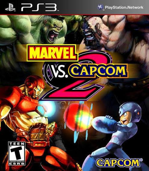Marvel Vs Capcom 2 Ps3 Receba Agora