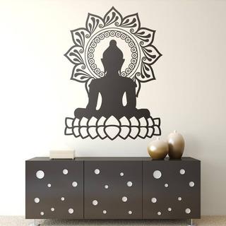 Vinil Decorativo Buda Zen Mandala