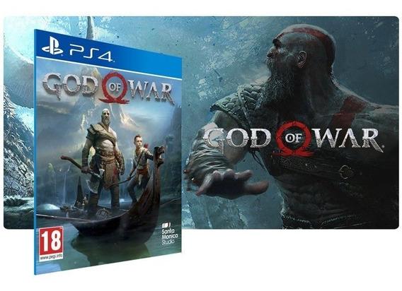 God Of War 4 Deus Da Guerra Dublado Ps4 Psn Jogo Digital