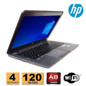 Notebook Hp Elitebook 745 Amd 7150 4gb Ddr3 Ssd 120gb Wifi