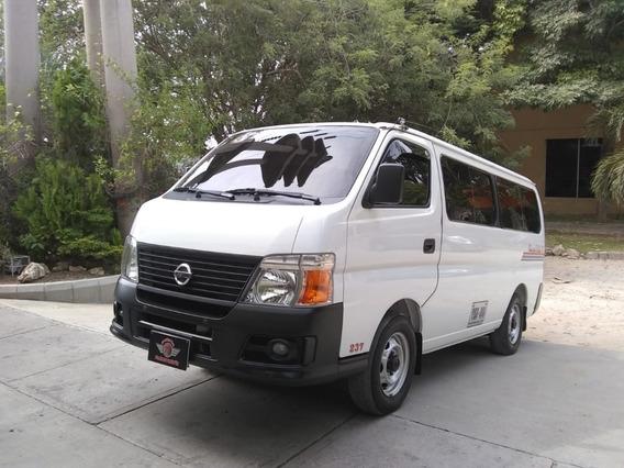 Nissan Urvan Urvan Pasajeros 12 2012