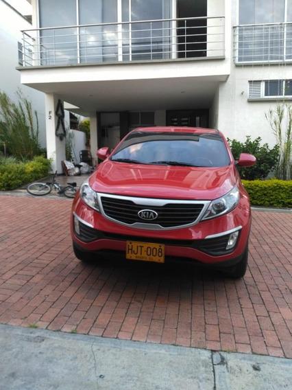 Kia New Sportage Lx Motors 1.9 2014 Rojo 5 Puertas Excelente