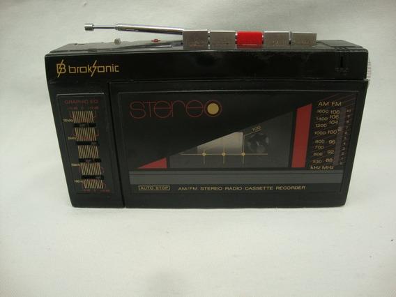 Antigo Radio Am Fm E Toca Fitas Broksonic ***não Funciona***