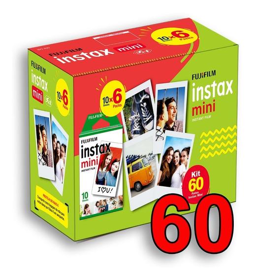 Filme Instax Mini 60 Fotos Entrega + Rápida
