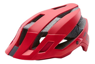 Capacete Bike Fox Racing Flux Solid Red Oficial