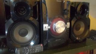 Minicomponente Con Control Remoto Panasonic Sa-akx14