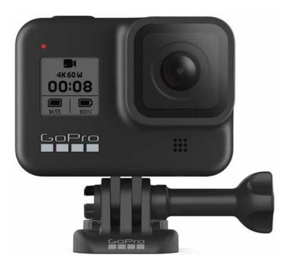 Câmera Digital Gopro Hero 8 Black 12mp 4k Original Nf