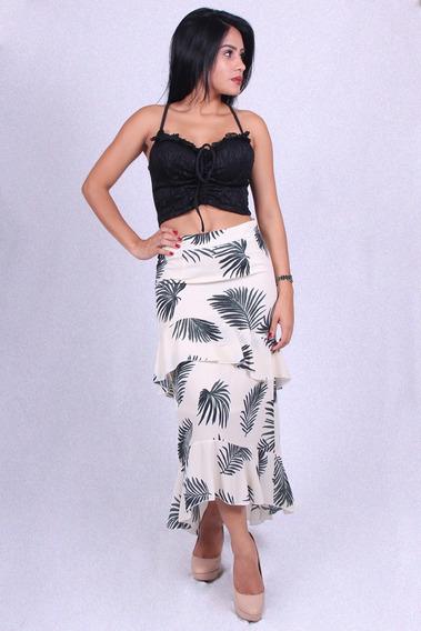 Saia Babado Valentina V-12348 - Asya Fashion