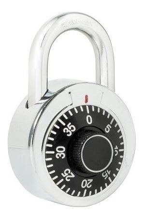 Candado De Combinación Disco 50mm Negro L26s50ngb Lock