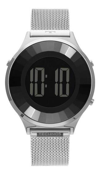 Relógio Feminino Technos Digital Prata - Original