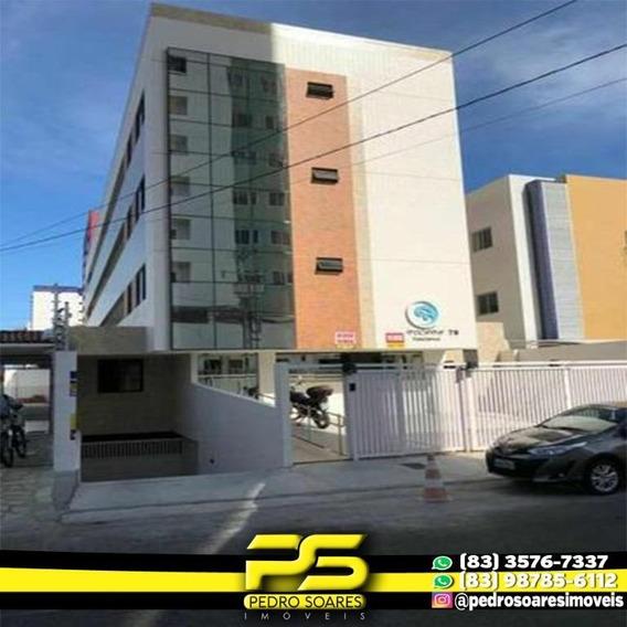 Flat Com 1 Dormitório Para Alugar, 35 M² Por R$ 1.600/mês - Miramar - João Pessoa/pb - Fl0082