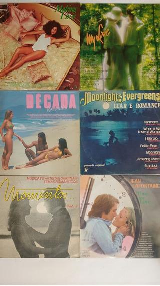 6 Lps Coletânea Música Romântica Internacional Frete Grátis