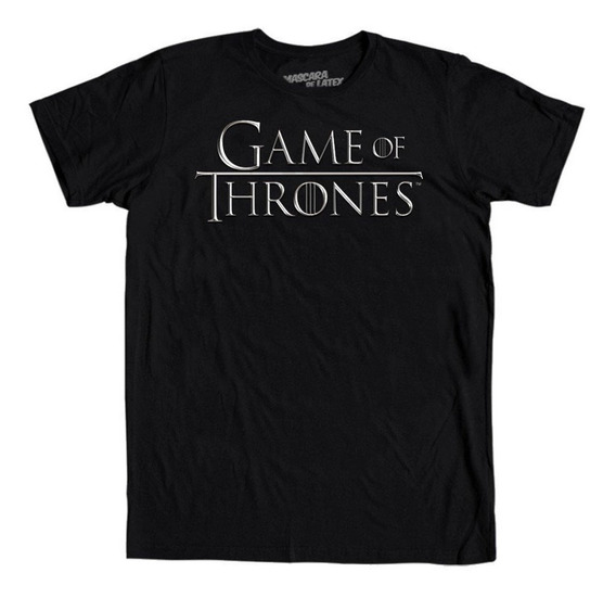 Playera Mascara De Latex Game Of Thrones Logo