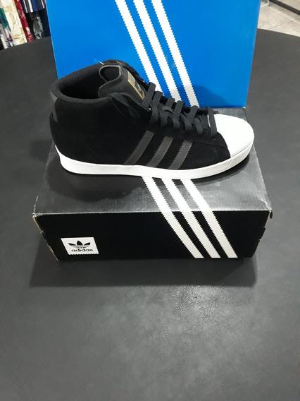 Tênis adidas Pro Model Vulc Adv Preto/branco
