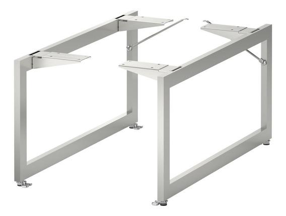 Soportes Acero Inox.muebles Minimalista Ikea 2 Piezas