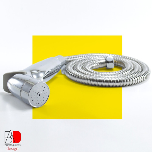 Bidet Duchador Para Inodoro Manual Gatillo Kit Completo Plus