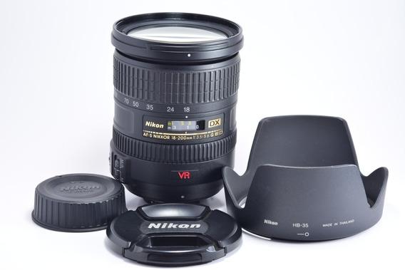 Nikon Af-s Dx Nikkor 18-200mm F/3.5-5.6 G If Ed Vr