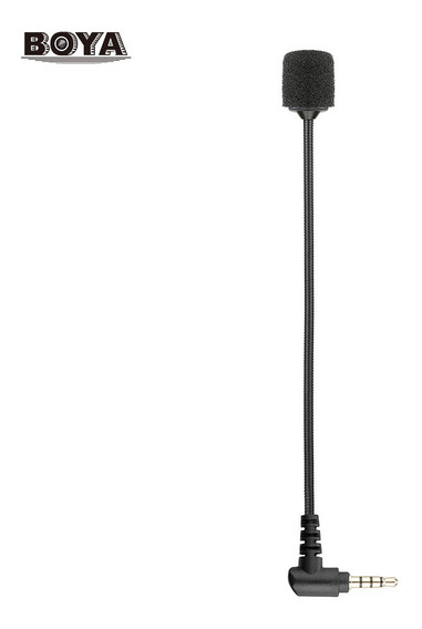 Microfone Condensador Omnidirecional Portátil Boya By-um4