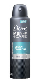Dove Men Clean Anti Transpirante Aerosol 150ml Unilever