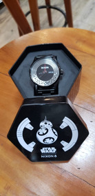 Relógio Nixon Sentry Woven Star Wars Kylo - 208493
