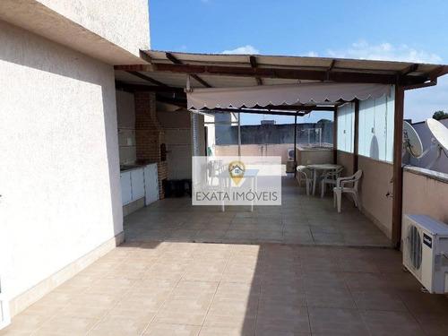 Cobertura 03 Quartos, Parque Zabulão/centro, Rio Das Ostras - Co0032