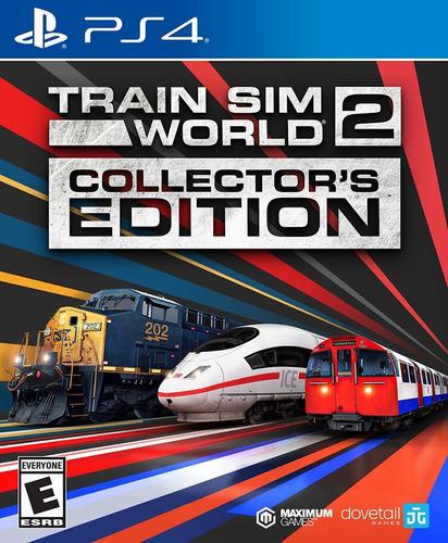 Ps4 Train Sim World 2 / Collectors Edition / Fisico