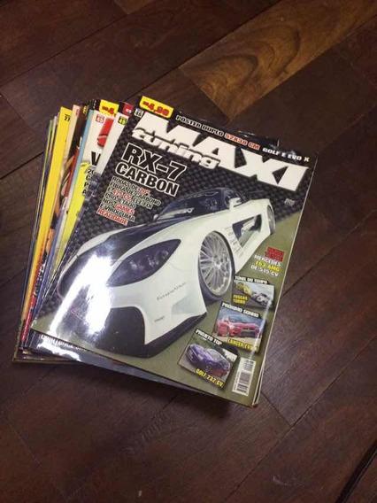 Coleção De Revistas Maxi Tuning, Para Colecionadores