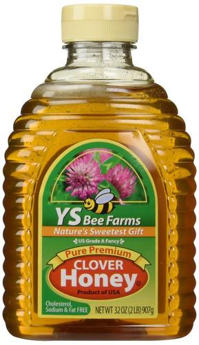 Ys Bee Farms - Clover Honey Pure Premium - 32 Oz.