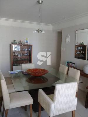 Excelente Apartamento De Quatro Quartos Para Aluguel No Pituba Ville! - Fs0111