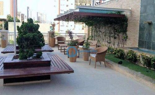 Imagem 1 de 14 de Apartamento Com 3 Dormitórios À Venda, 91 M² Por R$ 650.000 - Dionisio Torres - Fortaleza/ce - Ap1047