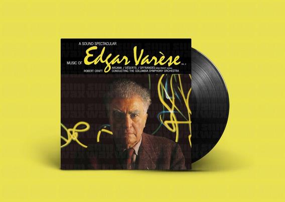 Music Of Edgar Varese Vol. 2 Vinilo Lp Nuevo Europa Clasica