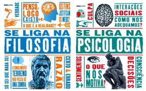 Kit - Se Liga Na Filosofia + Se Liga Na Psicologia