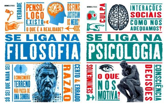 Kse Liga Na Filosofia + Se Liga Na Psicologia - Frete Grátis