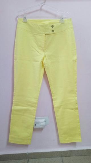 Calça Seiki Social Amarela - 44 - Nova!