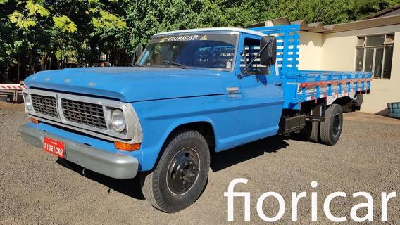 Ford F-4000 1981/81 Único Dono C/90.250km Carroceria 0km
