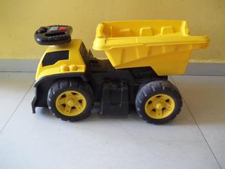Camión Volteo Montable Caterpillar. Original Megabloks