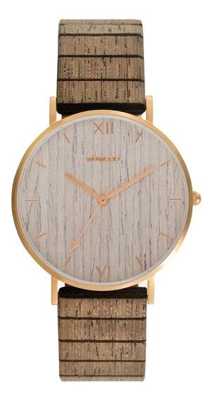 Relógio, Wewood, Aurora Rose Gold Apricot