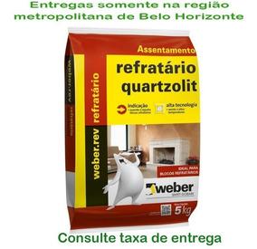 Argamassa P/ Tijolos E Placas Refratárias 5kg Quartzolit