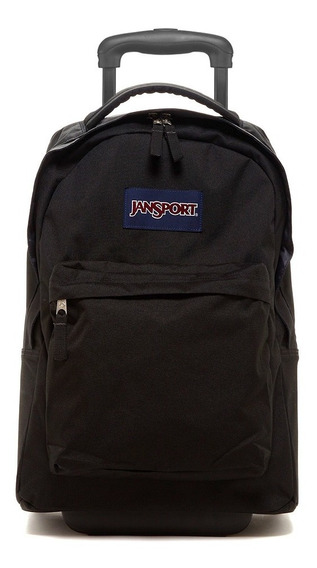 Mochila Jansport Carro Wheleed Superbreak Negro Maple Cuotas