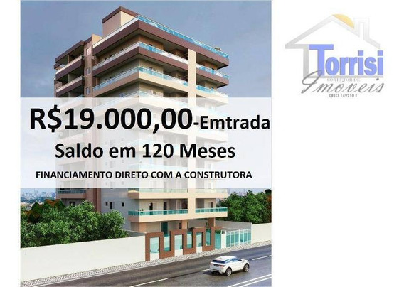 Apartamento Em Praia Grande, 01 Dormitório, Sala Com Sacada, No Bairro Mirim, Ap2125 - Ap2125