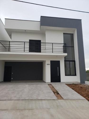 Sobrado Com 3 Dormitórios À Venda, 220 M² Por R$ 870.000 - Condomínio Vila Suíça - Sorocaba/sp - So0163 - 67640249