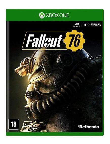 Fallout 76 Xbox One Mídia Física Novo Lacrado