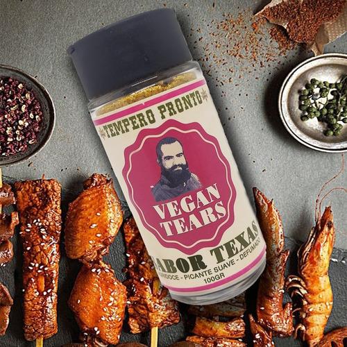 Vegan Tears - Lágrimas De Vegano Em Pó + Brinde