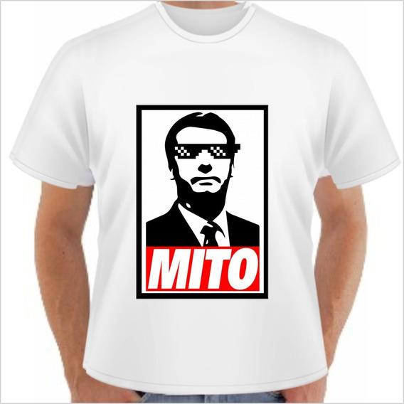 Kit 5 Camisas Camiseta Jair Bolsonaro 17 Promoção
