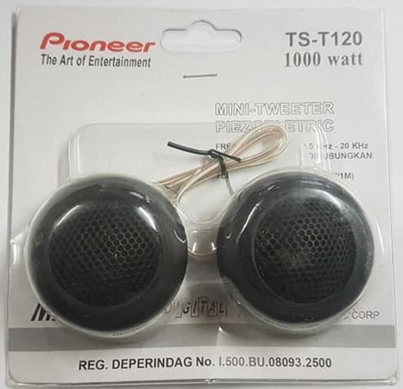 Par Mini Tweeter Pioneer Coluna 1000w Rms 4 Ohms Kit Agudo
