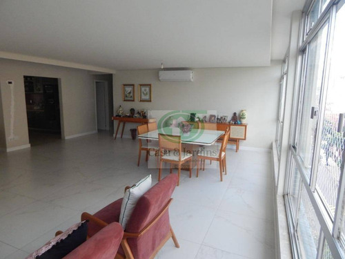 Imagem 1 de 23 de Embaré - Apto 4 Dormitorios (2 Suites) - 2 Garagens - Ap6697