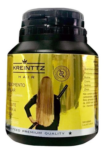 Imagem 1 de 7 de 5 Kreinttz Hair 60 Caps Cresce Até 18 Cm Em 6 Meses- 50%off