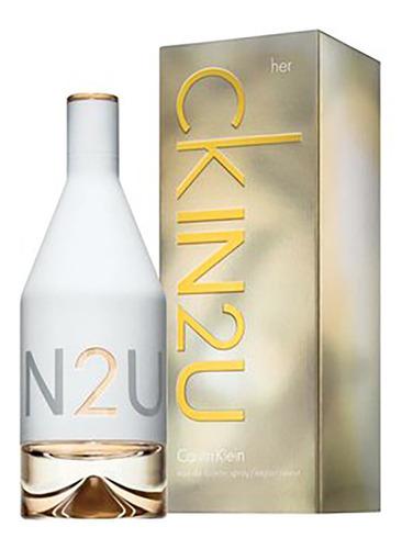 Imagen 1 de 1 de Perfume Calvin Klein In2u Edt 100ml Mujer