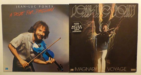 Jean Luc Ponty Discos De Vinilo Lp X 2